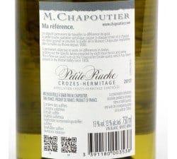 CHAPOUTIER - PETITE RUCHE