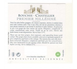 BOUCHIE CHATELLIER - PREMIER MILLESIME POUILLY FUME