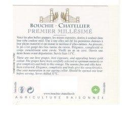 BOUCHIE CHATELLIER - PREMIER MILLESIME POUILLY FUME
