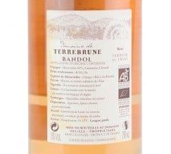 DOMAINE DE TERREBRUNE - BANDOL ROSE