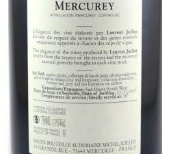 MICHEL JUILLOT - MERCUREY - LES VIGNES DE MAILLONGE
