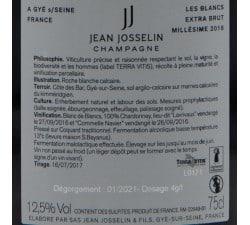 JEAN JOSSELIN - CHAMPAGNE BLANC DE BLANCS