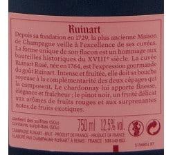 Champagne Ruinart Rosé sans étui