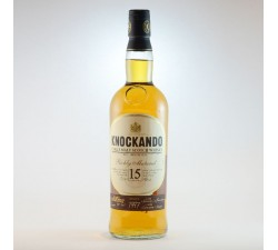 KNOCKANDO - WHISKY ECOSSAIS RICHLY MATURED 15 ANS