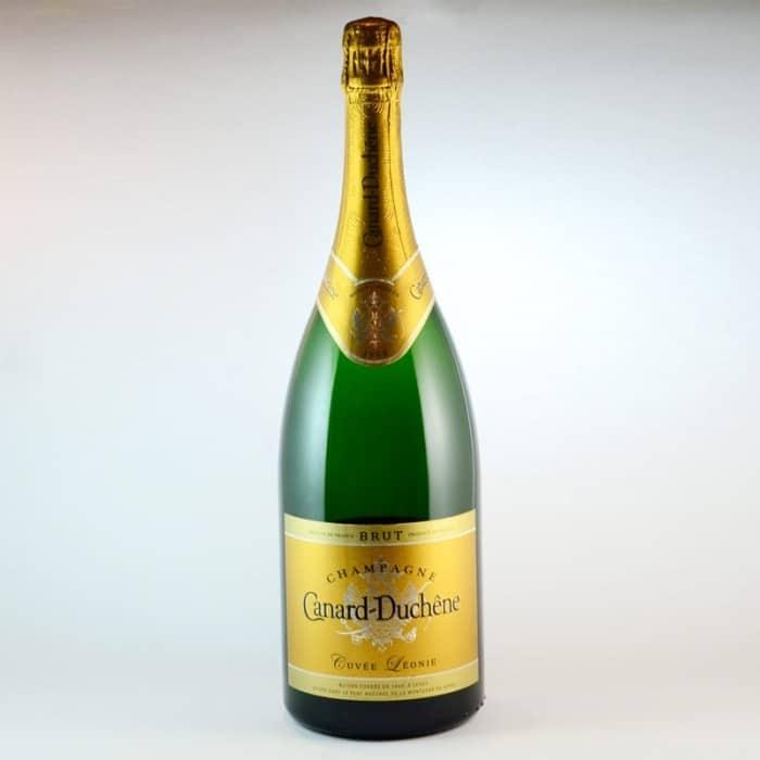 champagne leonie magnum canard duchene. Black Bedroom Furniture Sets. Home Design Ideas