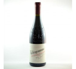 TELEGRAMME CHATEAUNEUF DU PAPE ROUGE