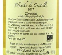 DOMAINE DE ROUX - BLANCHE DE CASTILLE
