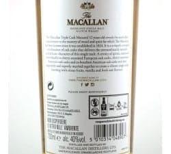THE MACALLAN - TRIPLE CASK 12 YEARS