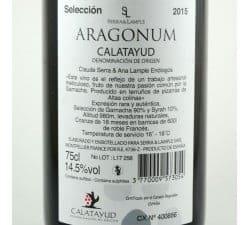 ARAGONUM CALATAYUD ROUGE ESPAGNE
